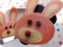 bunny pancakes easter
